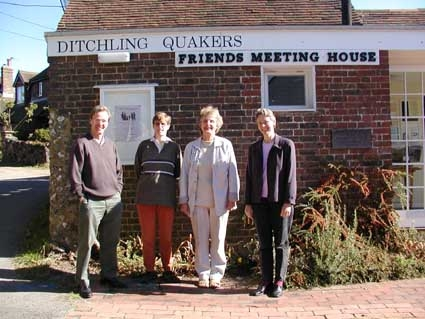 Ditchling Quakers (some of us!)
